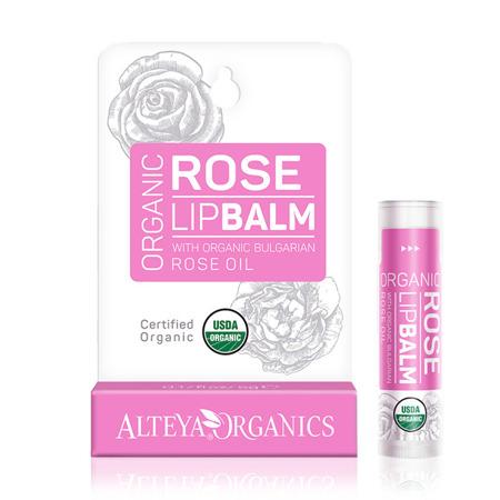 Balsam do ust z bio-olejkiem różanym