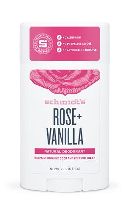 Dezodorant w sztyfcie Róża i wanilia 75 g