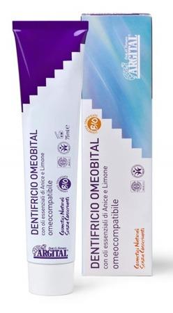 Homeopatyczna pasta do zębów z olejkiem anyżowym i cytrynowym