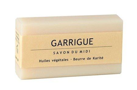 Mydło z masłem shea dla panów GARRIGUE (Zioła śródziemnomorskie)