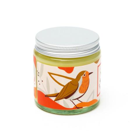 Naturalna świeca sojowa - korzenna - RUDZIK