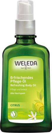 Odświeżający olejek do ciała z cytryną