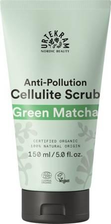 Peeling antycellulitowy do ciała z formułą anti-pollution ZIELONA MATCHA