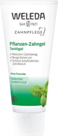 Roślinny żel do zębów